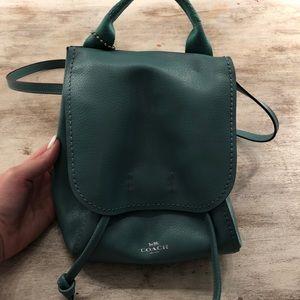 Coach purse/mini backpack